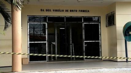 Fórum de Ibiapaba é arrombado, e armas são roubadas do local