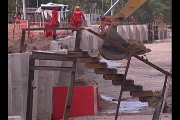 Prefeitura de Belém suspende obras no Mosqueiro de deve avaliar o local essa semana