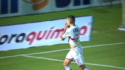 Relembre gol de Marcos Guilherme contra o Mirassol
