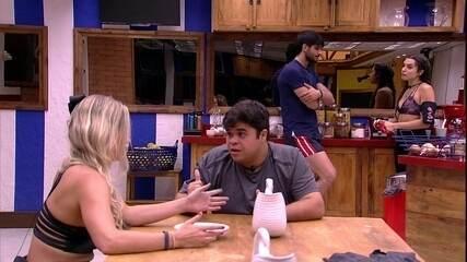 Jorge e Jéssica repercutem indicação de Ana Paula ao Paredão