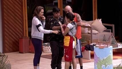 Ana Paula é a primeira eliminada da Prova do Veto
