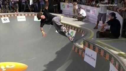 Em 2018, Pedro Barros vencia o Skate Park Internacional