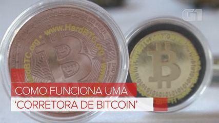 Como funciona uma 'Corretora de bitcoin'