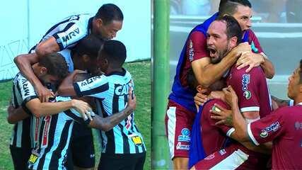 Melhores momentos de Atlético-MG 2 x 2 Patrocinense pelo Campeonato Mineiro