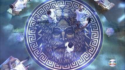 Começa a festa Deuses Gregos no BBB18