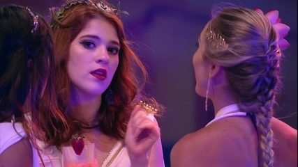 Ana Clara garante para Paula e Jéssica: 'Fui com a cara de vocês'