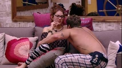Breno se despede de Ana Clara e avisa: 'Minha amizade com você vai continuar'