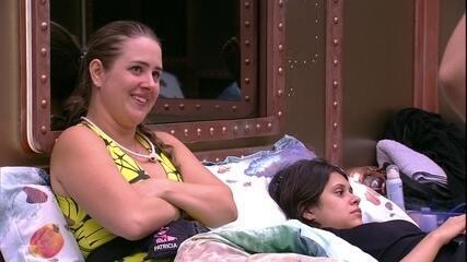 Patrícia elogia Lucas: 'Cara muito verdadeiro'