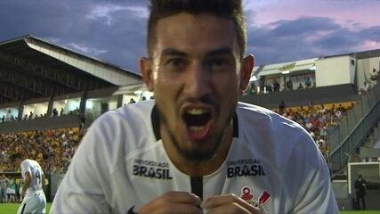 O gol de Novorizontino 0 x 1 Corinthians pela 5ª rodada do Campeonato Paulista