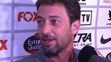 Novo diretor de futebol do Corinthians, Duílio Monteiro Alves fala em Novorizonte