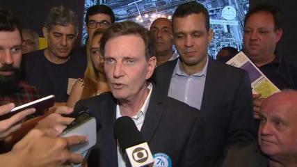 Marcelo Crivella afirma que irá à Sapucaí durante o carnaval