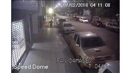 Ladrão é atropelado por comparsas após furto em loja de luxo em MT