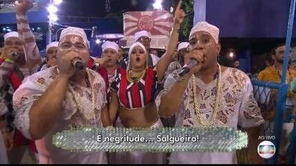'Senhoras do ventre do mundo' é o samba enredo do Salgueiro