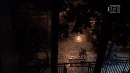 Rio entra em estágio de crise devido à chuva