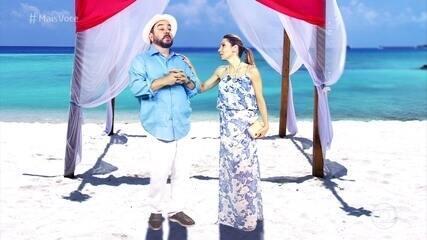 Beto Carramanhos e Dani Ferraz dão dicas para brilhar em cada estilo de casamento