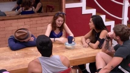 Ana Clara conta a brother sobre sonho com a Prova do Líder