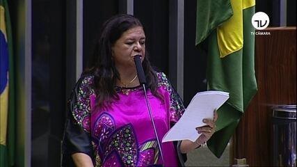 Deputada Laura Carneiro diz que intervenção 'consiste em medida excepcional'