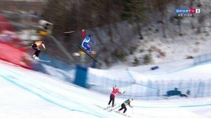 Francês sofre queda feia no esqui estilo livre em PyeongChang