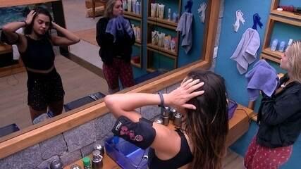 Paula fala sobre noite de sono com Jéssica: 'Custei a levantar'