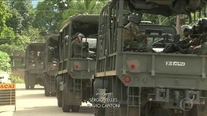 Exército faz varredura em presídio do RJ onde houve rebelião