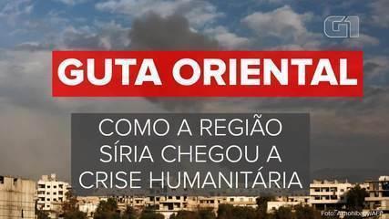 Guta Oriental: como região síria chegou a crise humanitária