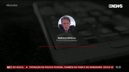"""Prefeito do Rio promete """"arco-íris depois de dilúvio"""""""