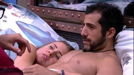 Patrícia sobre Paredão: 'Diego ficou mais de coadjuvante'