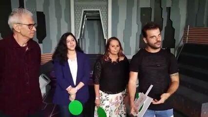 Boletim BBB: Família de Caruso, Diego e Lucas respondem perguntas sobre os brothers!