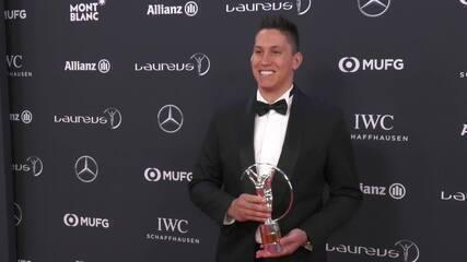 Follmann fala da emoção de receber o Prêmio Laureus