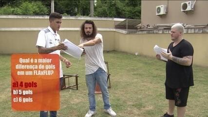 Pedro x Ferrugem: jogador e cantor fazem desafio sobre futebol, música e Fluminense