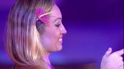 Jéssica elogia Patrícia: 'Acho massa quem sabe dançar assim