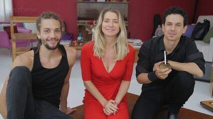 Letícia Spiller comenta sobre relacionamento e novo trabalho