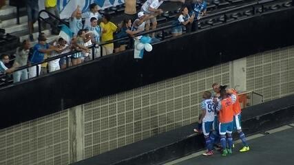 Contra o Flu, Romulo marca o terceiro gol no ano, todos fora de casa
