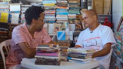 Idealizado por Lázaro Sandes, projeto Ler na Praça distribui livros gratuitamente