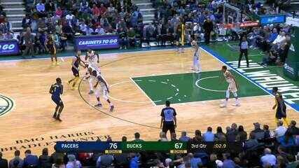 Melhores momentos: Indiana Pacers 103 x 96 Milwaukee Bucks pela NBA