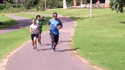 Por vaga em concurso, candidatos treinam pesado e contam com ajuda de personal trainer