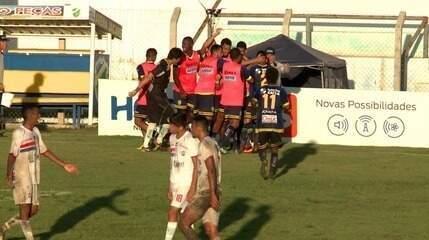 Os gols de Altos 4 x 3 Piauí pela sexta rodada do Campeonato Piauiense