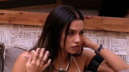 Paula para Jéssica: 'Se você tiver um problema comigo, que resolva comigo'