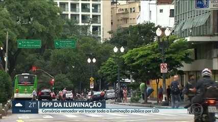 Dória assina contrato que vai modernizar a iluminação pública da cidade de São Paulo