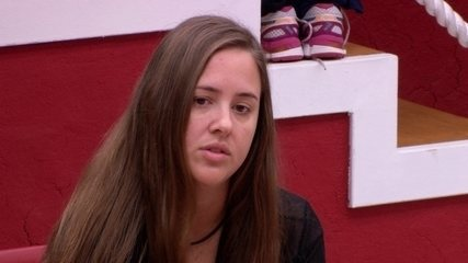 Patrícia fala para Kaysar sobre prova: 'Achava que vocês iam ganhar'