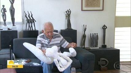 Foi sepultado no Recife o desenhista e artista plástico Corbiniano Lins