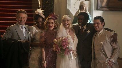 Celina e Artur se casam
