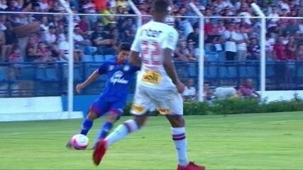 Melhores momentos: São Caetano 1 x 0 São Paulo pelas quartas de final do Paulistão