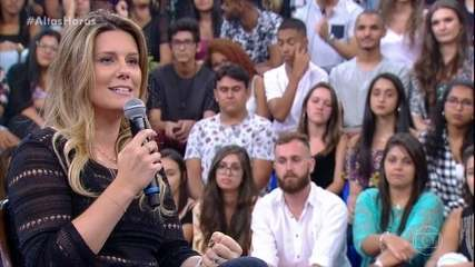 Daiana Garbin revela por que não foi ao casamento de Serginho Groisman