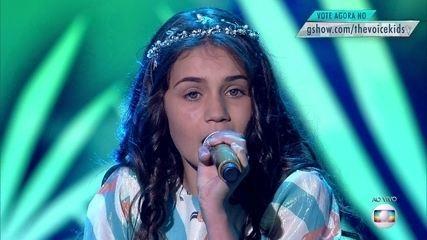 Ranna Andrade canta 'No meu coração você sempre vai estar' na fase de Shows ao Vivo