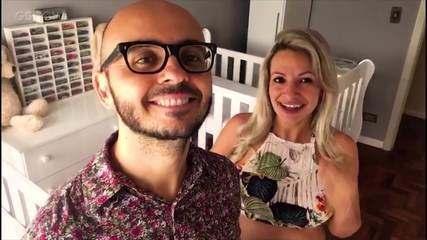 Renata e Eduardo falam sobre premonição de Luciano e o prêmio do The Wall
