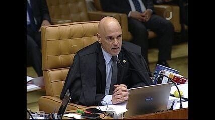 Alexandre de Moraes vota em julgamento de pedido de habeas corpus de Lula no STF