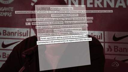 Investigação aponta indícios de irregularidade na administração de Piffero, no Inter