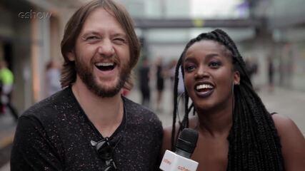 'Agora eu quero vir todo ano', diz IZA nos bastidores do Lollapalooza