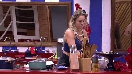 Jéssica fala sobre Prova da Comida: 'Quero comer pipoca'
